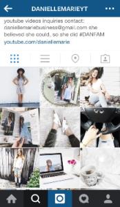 DanielleMarie Instagram